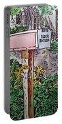 Mailbox Sketchbook Project Down My Street Portable Battery Charger by Irina Sztukowski