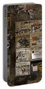 Mailboxes With Graffiti Portable Battery Charger by RicardMN Photography