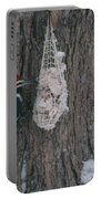 Male And Female Pileated Woodpeckers Portable Battery Charger