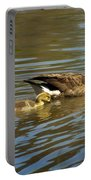 Mama Honker And Goslings Portable Battery Charger