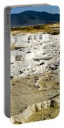 Mammoth Hot Springs Terraces Portable Battery Charger