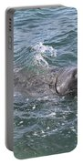 Manatee At Ponce Inlet Portable Battery Charger