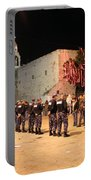 Manger Square At Night Portable Battery Charger