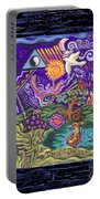 Manifest Destiny Portable Battery Charger by Genevieve Esson