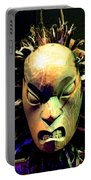 Maori Mask Two Portable Battery Charger