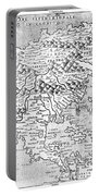 Map Of New France, 1566 Portable Battery Charger