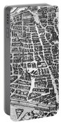 Map Of Paris Portable Battery Charger by German School