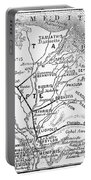 Map: Suez Canal, 1869 Portable Battery Charger