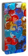 Marble Collection Abstract Portable Battery Charger