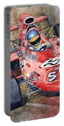 March 711 Ford Ronnie Peterson Gp Italia 1971 Portable Battery Charger