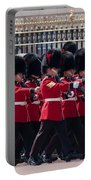 Marching In Red And Black Portable Battery Charger