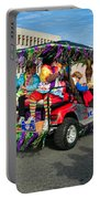 Mardi Gras Clowning Portable Battery Charger