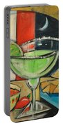 Margarita Poster Portable Battery Charger