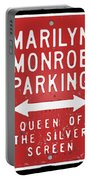 Marilyn Monroe Parking Portable Battery Charger
