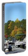 Marina In Fall Portable Battery Charger