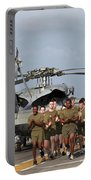 Marines And Sailors Run Aboard Uss Portable Battery Charger