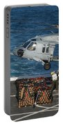 Marines Attach Cargo To An Mh-60s Sea Portable Battery Charger