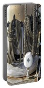 Maritime Pulley And Rope Work Portable Battery Charger