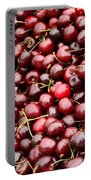 Market Cherries Portable Battery Charger