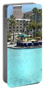Marriott Hotel Swimming Pool Panorama Orlando Fl Portable Battery Charger