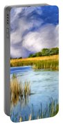 Marshlands On Isle Of Palms Portable Battery Charger