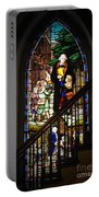 Martin Luther At Historic Zion Portable Battery Charger