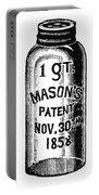 Mason Jar Portable Battery Charger