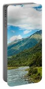 Massive Cloudy Sky Above The Wilderness Portable Battery Charger