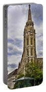 Matthias Church Tower - Budapest Portable Battery Charger