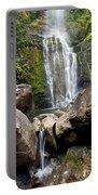 Mauis Wailua Falls And Rocks Portable Battery Charger