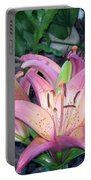 May Birth Flower Portable Battery Charger