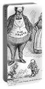 Mckinley Cartoon, 1900 Portable Battery Charger