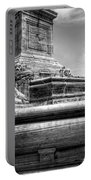 Mckinley Memorial In Black And White Portable Battery Charger