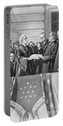 Mckinley Taking Oath, 1897 Portable Battery Charger