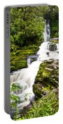 Mclean Falls In The Catlins Portable Battery Charger