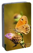Meadow Brown Butterfly  Portable Battery Charger