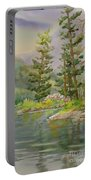 Medicine Lake Jasper Portable Battery Charger