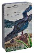 Anhinga-drying Out Portable Battery Charger