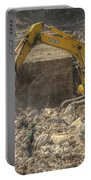 Men At Work Construction Site Portable Battery Charger