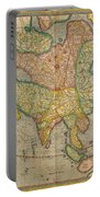 Mercators Map Of Asia Portable Battery Charger
