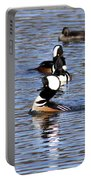Mergansers All In A Row Portable Battery Charger