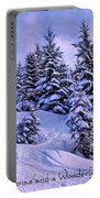 Merry Christmas And A Wonderful New Year Portable Battery Charger