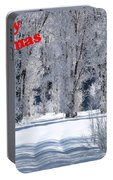 Merry Christmas Card 1 Portable Battery Charger