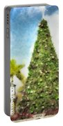 Merry Christmas Tree 2012 Portable Battery Charger