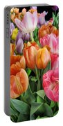 Merry Dresden Style Tulips Portable Battery Charger