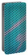 Metallic Background Portable Battery Charger