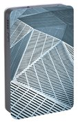 Metallic Frames Portable Battery Charger