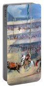 Mexico: Bullfight, 1833 Portable Battery Charger