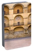 Mezquita And Plaza Del Triunfo Portable Battery Charger