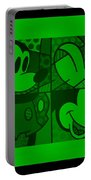 Mickey In Green Portable Battery Charger